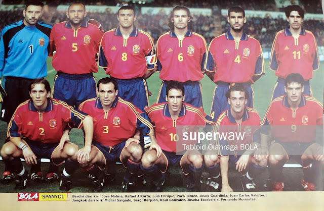 PIN UP TIMNAS SPANYOL