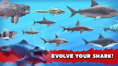 Hungry Shark Evolution النسخة المهكرة
