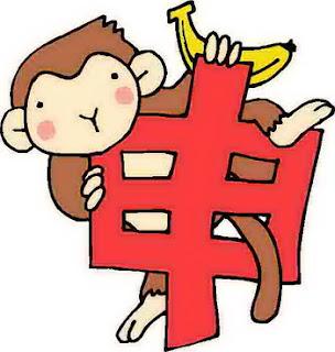 character chinese zodiac monkey