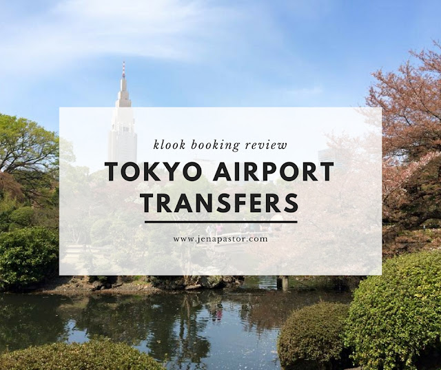 klook booking tokyo airport transfers