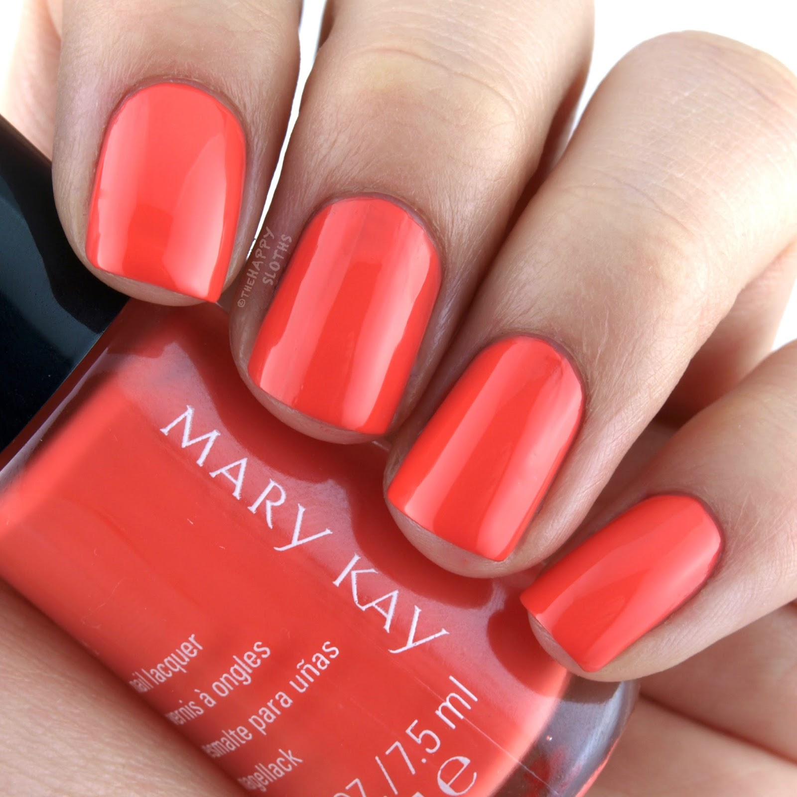 Mary Kay Spring 2017 Light, Reinvented Collection Nail Lacquer Vivid Sunburst: Review and Swatches