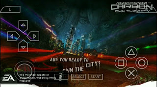 NEED FOR SPEED CARBON OWN THE CITY CSO PPSSPP FOR ANDROID