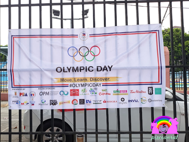 70th Anniversary, Olympic Day in the Philippines transpired last June 30, 2018, Saturday. It was held at the track and field stadium of the ULTRA in Pasig, from 6 AM to 11 AM.
