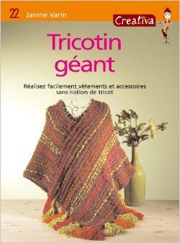 livres modèles tricotins géants