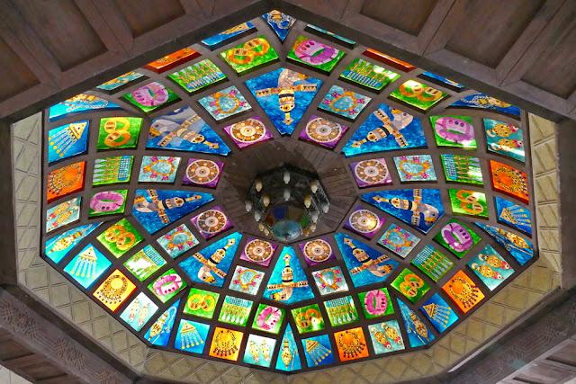 Oberlicht, Souk, Mutrah, bunt, Glas, scheiben, Muscat, Oman