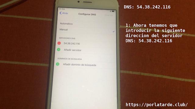 iCloud Bypass DNS