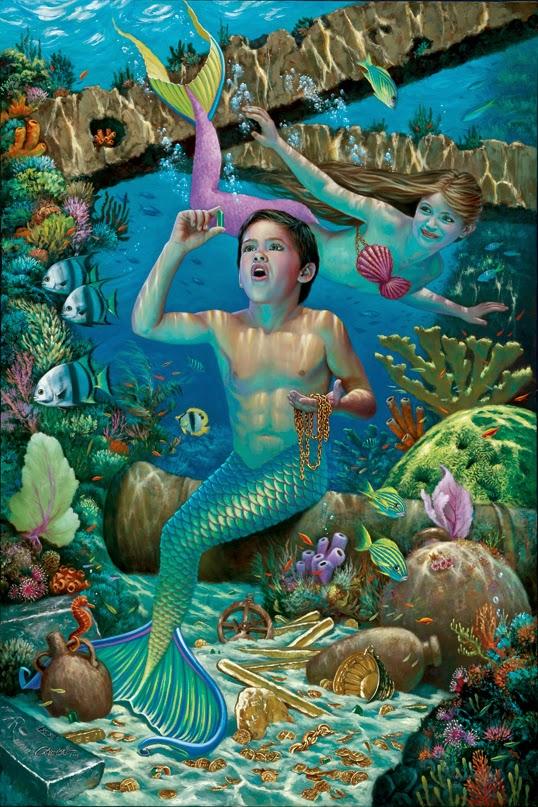 Inkspired Musings Mermaid Splashes