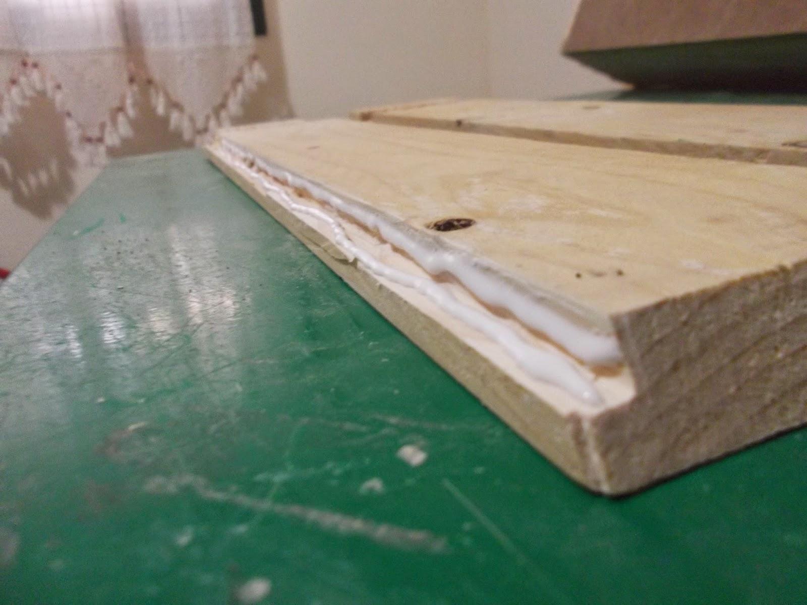 Herbolario con madera reciclada de palets diyambo blog - Masilla para madera casera ...