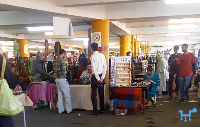 Friday Bazaar, Parvaneh, Tehran, Iran, flea market