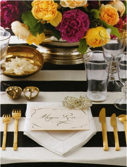 Chic + Glamorous Table Setting Ideas