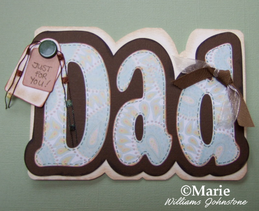 How to Make an Easy Dad Card for Father's Day Birthdays and More Male card inspiration for men paper crafting