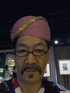 Indian traditional headwear, Indian Heritage Centre, Singapore