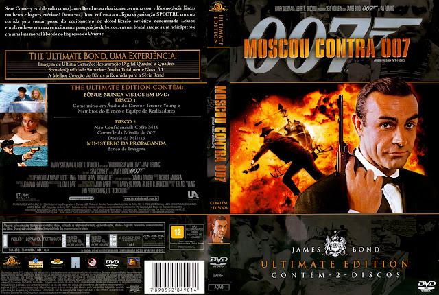 Capa DVD Moscou Contra 007