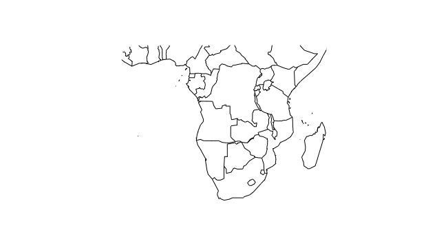 Map Of Africa Fill In.R For Biochemists Three Maps Of Namibia