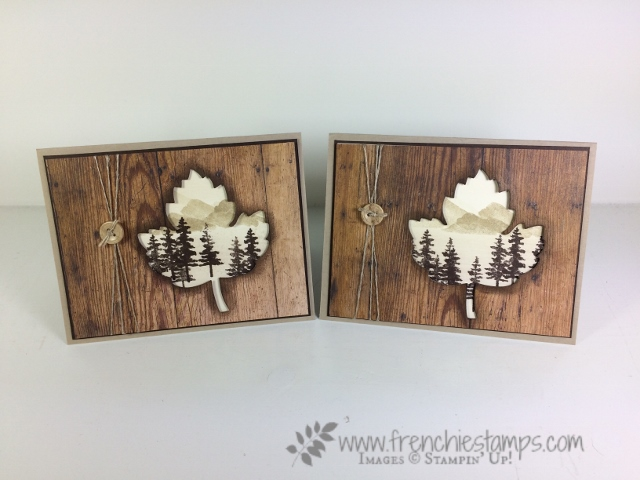 Waterfront, Open view, Wood Texture, Stampin'Up!,