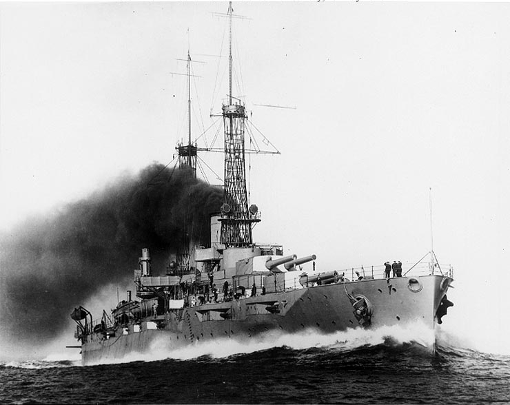The Missouri BB63 is seen in mid1943 at the New York Navy