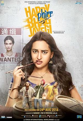 Happy Phirr Bhag Jayegi 2018 Hindi 350MB Pre-DVDRip 480p