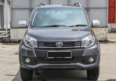 Eksterior Depan Toyota Rush Edisi Keempat