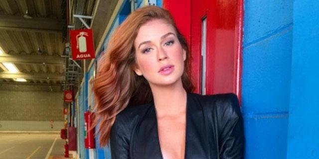 A atriz Marina Ruy Barbosa está em alta na Globo. 5adf1b95065