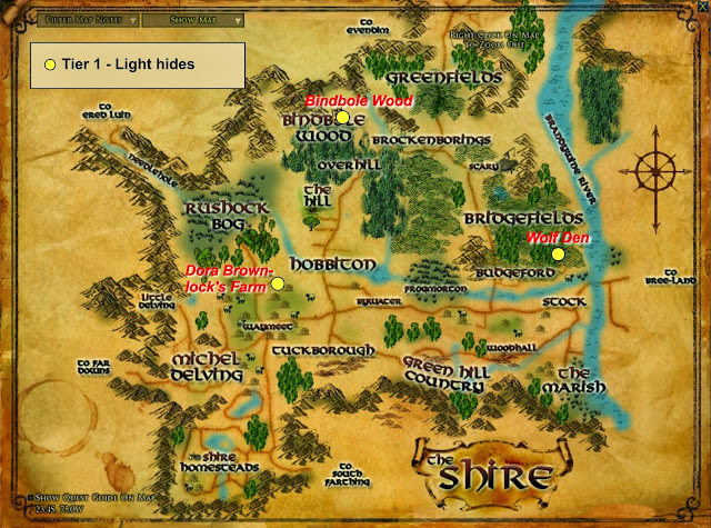 Wonderful Places in LOTRO's Middle Earth: Hides - and