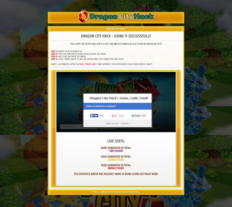Dragon City Hack Online Generator Script - Free Download ... - photo#44