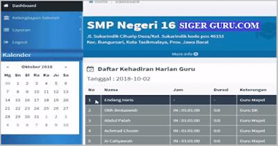 Cara Membuat dan Cetak SPTJM DHGTK V.2 Absensi Hadir GTK Online