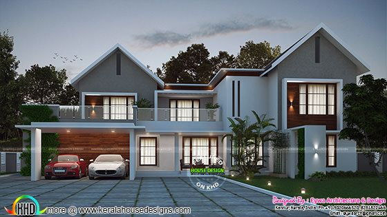 Beautiful modern mix house in 3566 sq-ft