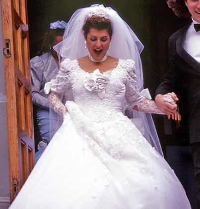 Ella Barrett On Film Fashion Wedding Dress Wednesday My Big Fat Greek Wedding 2002