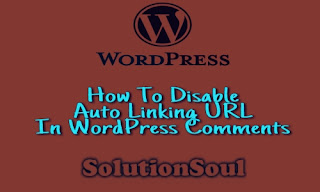 How to disable auto linking URL in wordpress comments