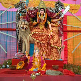Navratri Puja Festival Celebrations
