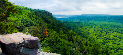 View from East Bluff Trail - Devil's Lake State Park - Baraboo WI