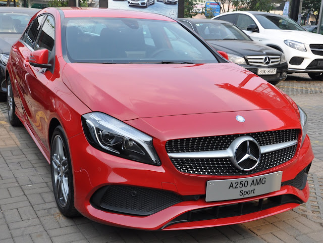 Thiết kế ngoại thất của Mercedes A250 2017 mang tính đột phá