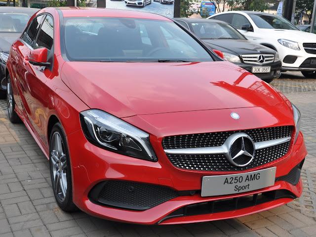 Thiết kế ngoại thất của Mercedes A250 mang tính đột phá