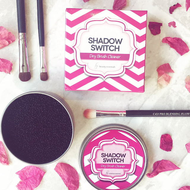 Shadow Switch Dry Brush Cleaner from Beauty Essentials on LoveLaughsLipstick blog