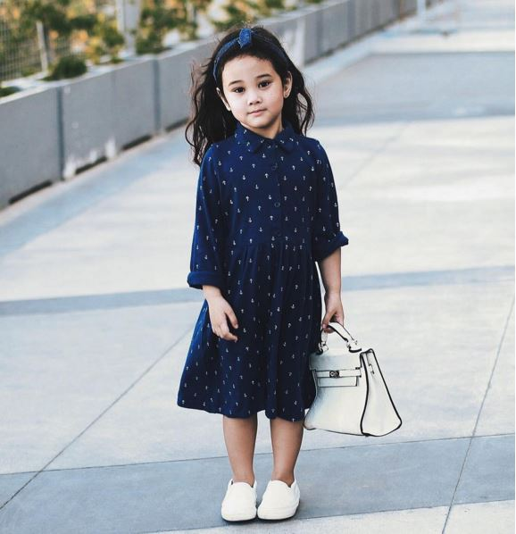 This 4-year-Old Dominates Fashion World With Her Classy Outfits!
