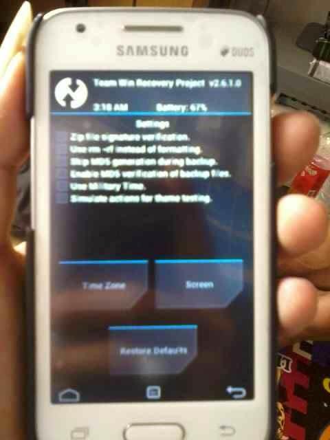 Nano Mobile: [RECOVERY] TWRP v2 6 1 0 for Samsung Galaxy V SM-G313HZ