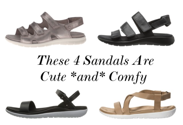 most comfortable sandals for work