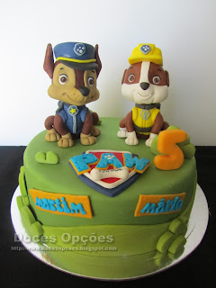 cake chase and rubble paw patrol