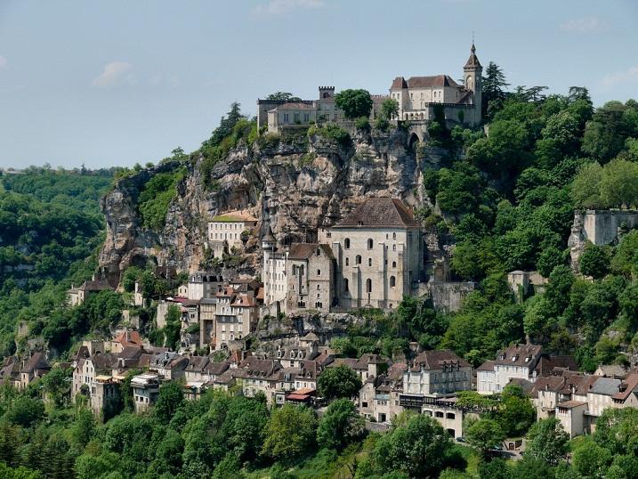 Rocamadour, Desa Indah di Puncak Tebing Prancis