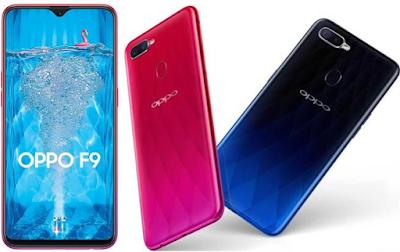 Harga Oppo F9 Terbaru dan Spesifikasi Lengkap