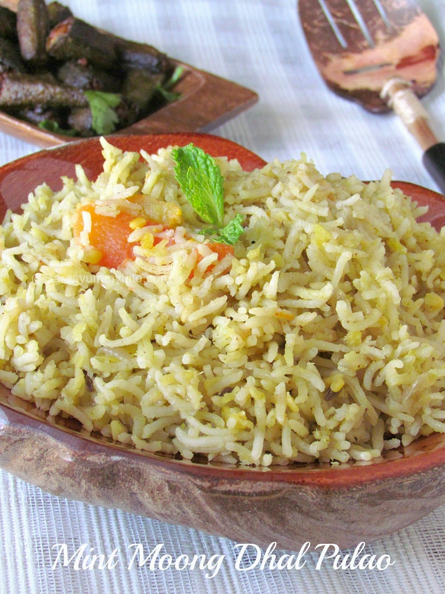 Mint Moong Dhal Pulao