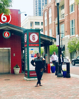 Nigerian Film Actress Eniola Badmus Shares Photos from Vacation In Atlanta.