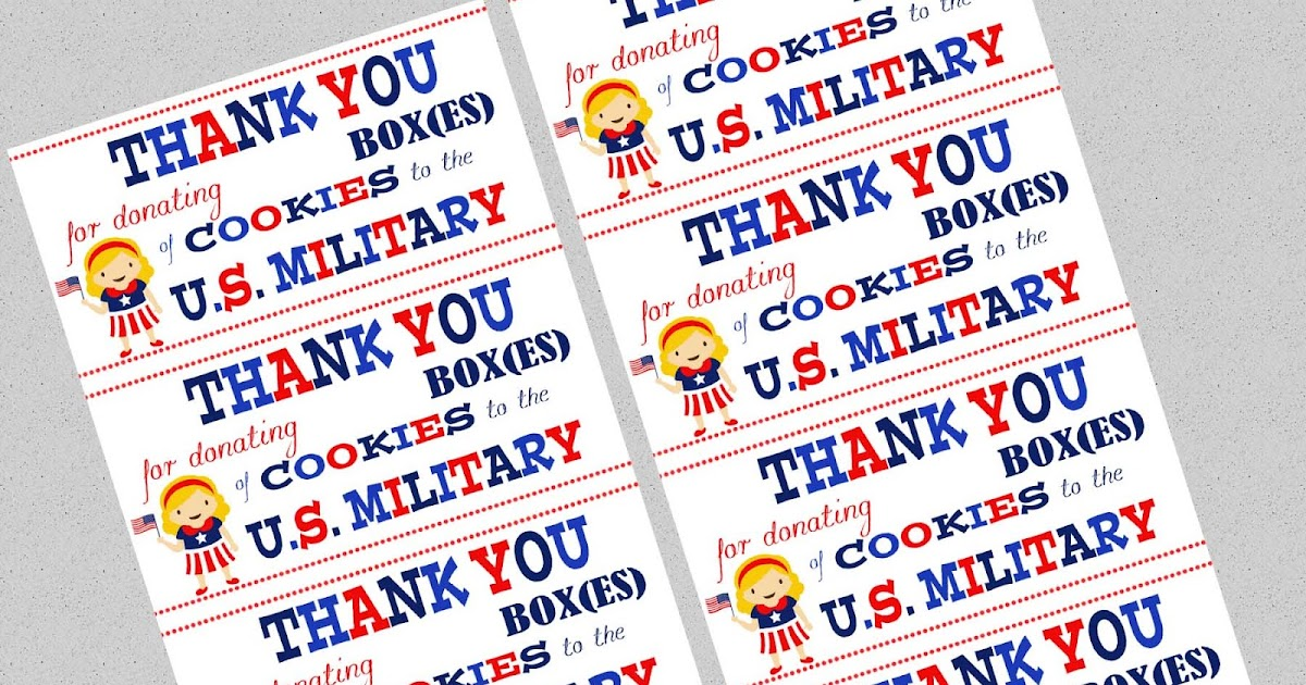 This is an image of Versatile Military Thank You Cards Free Printable