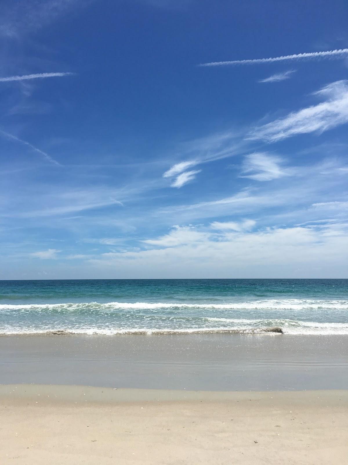 beach coastline in Florida