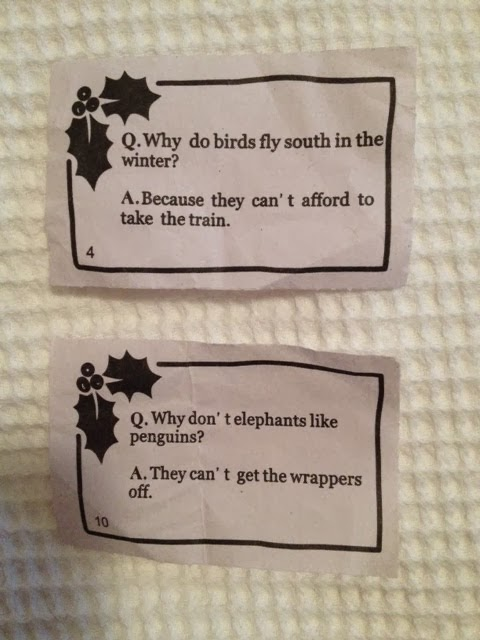 Christmas Cracker Jokes.The Cabbages Of Doom Christmas Cracker Jokes Are Bad And