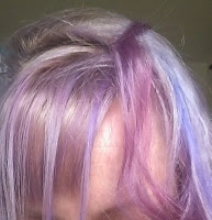 faded hair dye sparks purple passion argan oil bleached blonde