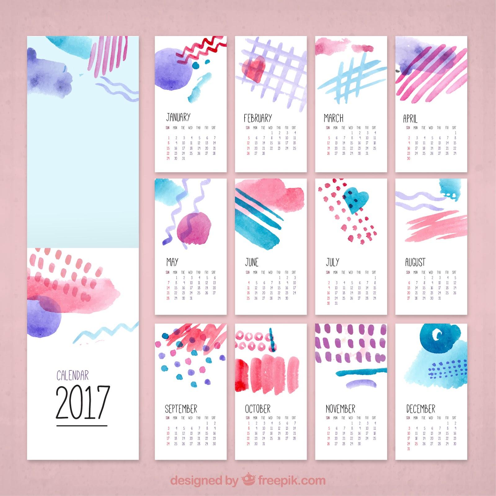 http://de.freepik.com/vektoren-kostenlos/aquarell-kreative-kalender-2017_956724.htm