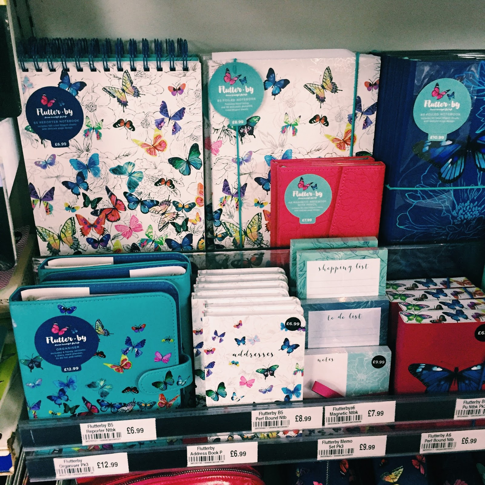 WHSmith Notebooks and Stationery
