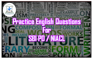 Practice English Questions for Upcoming Exams 2017