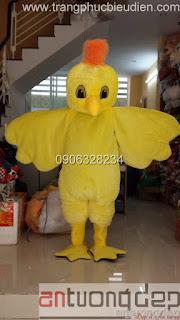may bán thú rối mascot